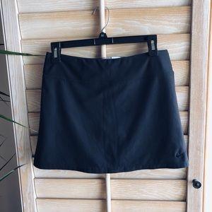 NIKE Black Mini Skirt with Spandex Tennis Golf